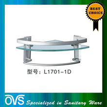 made in china clamp glass shelf supports L1701-1D