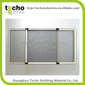 Aluminium Sliding Insect Screen Window With Fly And Door Plastic Mosquito Net