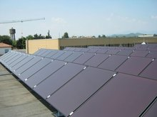 manufacturer produced thin film amorphous silicon solar panel