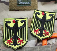 Custom embroidery eagle patches, motorcycle patch, biker patches