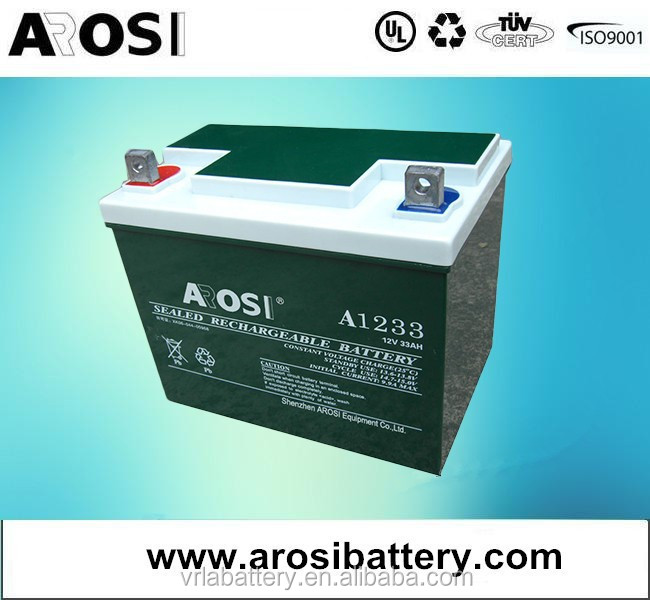 12V 24Ah Sealed Deep Cycle Lead Acid Replacement Battery for APC BACK-UPS