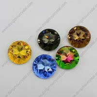 Fashion jewelry accessory crystal stone round fancy jewelry beads