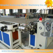 Flexible PVC electrical pipe manufacturing machine for conduit wiring