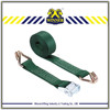 Heavy duty car tow strap and cargo lashing strap