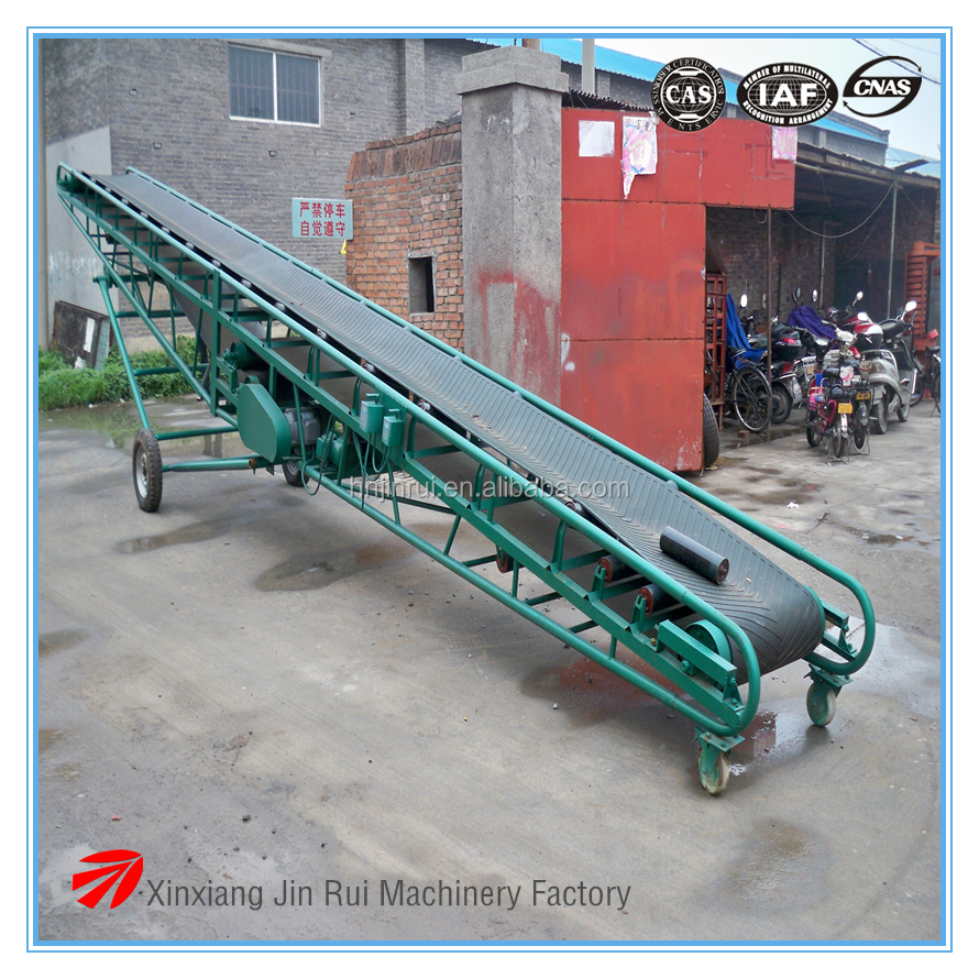 used in coal, mine, grain industry DY mobile conveyors 650mm conveyor belt types