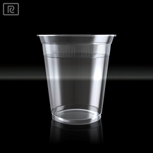 K-U200Y-P PP 7oz 200ml disposable water coffee tea drinking plastic cup with lid