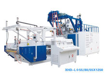 LLDPE plastic stretch film machinery stretch film extruder machine