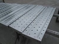 metal scaffold plank pre-galvanized steel material
