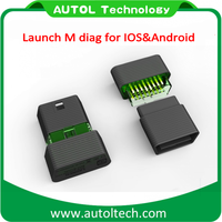 OEM Original Launch M-Diag Plus for iOS Android Built-in Bluetooth OBDII OBD2 Diagnostic Tool with One Free Car Software