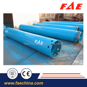 hydraulic drilling rig oscillated temporary casing tube for conventional piling techniques