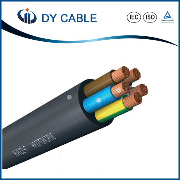 DY Low voltage multi core flexible silicone cable
