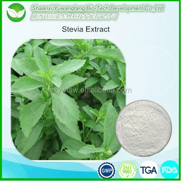 Natural Healthy Sweetener Stevia Extract(Steviol Glycosides 98%)