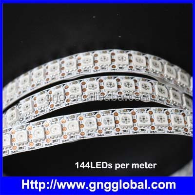 DC5V 100pcs SMD5050 full color WS2812B led pixel strip