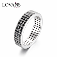 Zircon Jewelry 925 Sterling Silver Rings O Ring