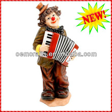High quality clown figurine wholesale