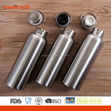 Everich Bulk Item Insulated Bamboo Lid Stainless Steel Drinking Water Bottle