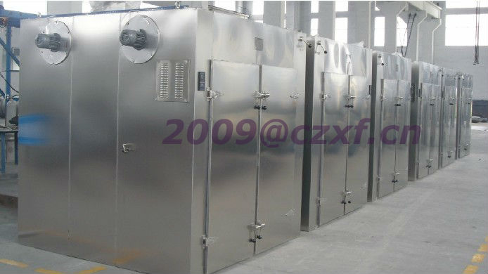 Drying machine for fruits