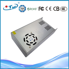 Hotsales industrial control led rainproof power supply 400w 24v