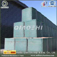 Qiaoshi mesh Wire sheet hesco weld gabion box