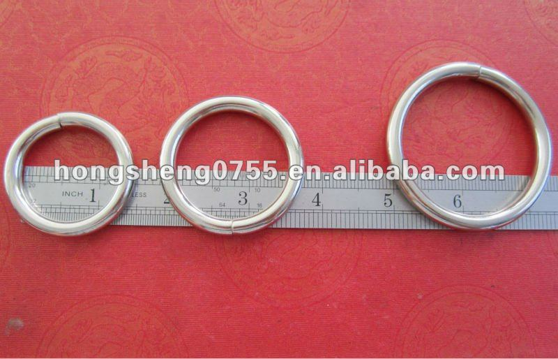 Factory Supply Cheap Price Metal O Ring,Iron Material Gate Ring,Decorative O Rings
