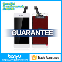 Replacement spare parts white touch display lcd for iphone 5c