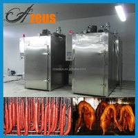 Large Capacity Fish Meat Industrial Smokers