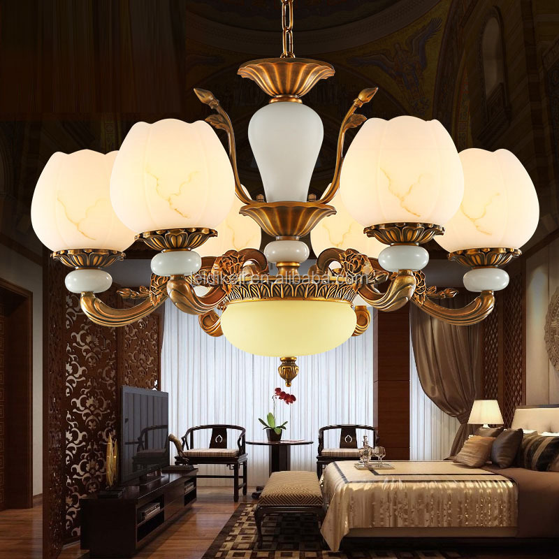 Classical Chinese Style Vintage Lamp Modern Luxury Palace Chandeliers
