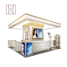 Customized Design High End Decoration Retail Mall Kiosk For Sale