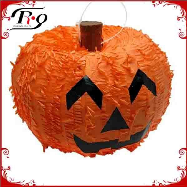 Halloween decoration pumpkin pull pinata designs buy for Decoration pinata