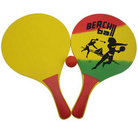 Promotional Summer Wooden Beach Racket