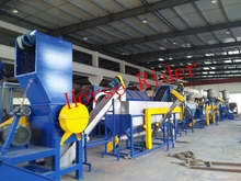 PET bottle crushing washing drying recycling line/Plastic Washing Plastic Recycling Granulating Production Line price