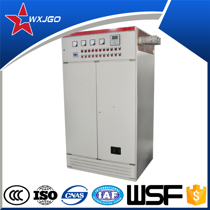 Electrical dynamic reactive power factor compensation cubicle