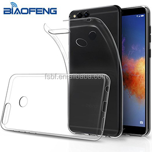 Clear Transparent TPU Soft Silicon gel Protection Bumper Skin back Shell cellphone Cover case for Huawei Honor 7C