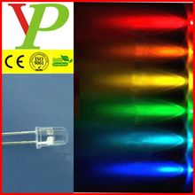 Red/Green/Blue/Yellow/Orange/White 5mm water clear multi-color led diode