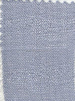 Plain Dyed Herringbone Linen and Viscose Blended Fabric