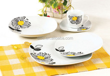 porcelain luxury dinner set for daily use