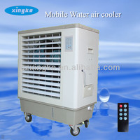 220V portable evaporative air conditioner/ industrial mobile water air cooler/movable water air cooling system