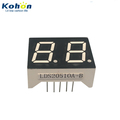 Factory price 2 digit 0.50inch common anode seven segment orange color LED numeric display in shenzhen