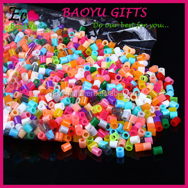 Eduational Toys Plastic 5mm Mini Hama Beads Hama Perler Beads For Kids