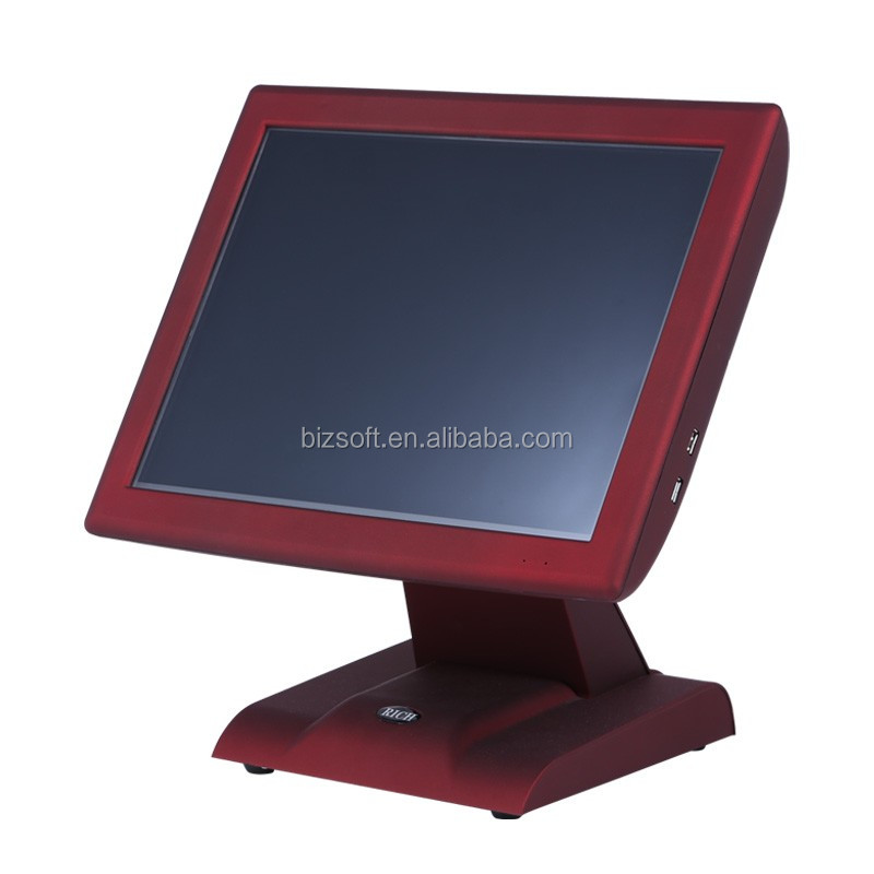 Bizsoft POSTOUCH X515 Low Cost Cheap Touch POS Terminal with Customer Display