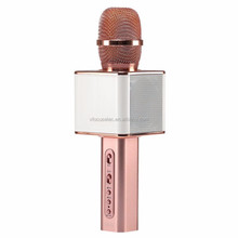 New Fashion USB Microphone KTV Karaoke Handheld Mic Speaker Wireless Microphone YS10 for IOS Android Smartphone and TV