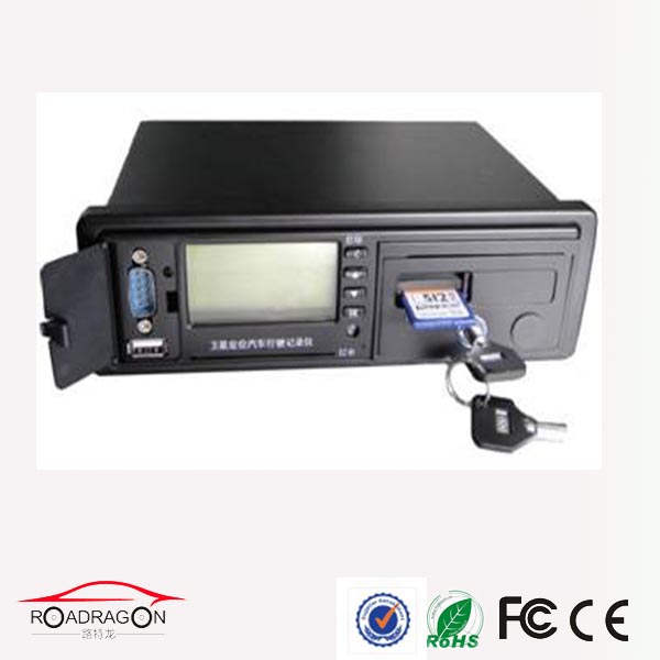 GPS digital tachograph,with Oil Sensor, Over-speed Alarm, Identity and Recording Functions