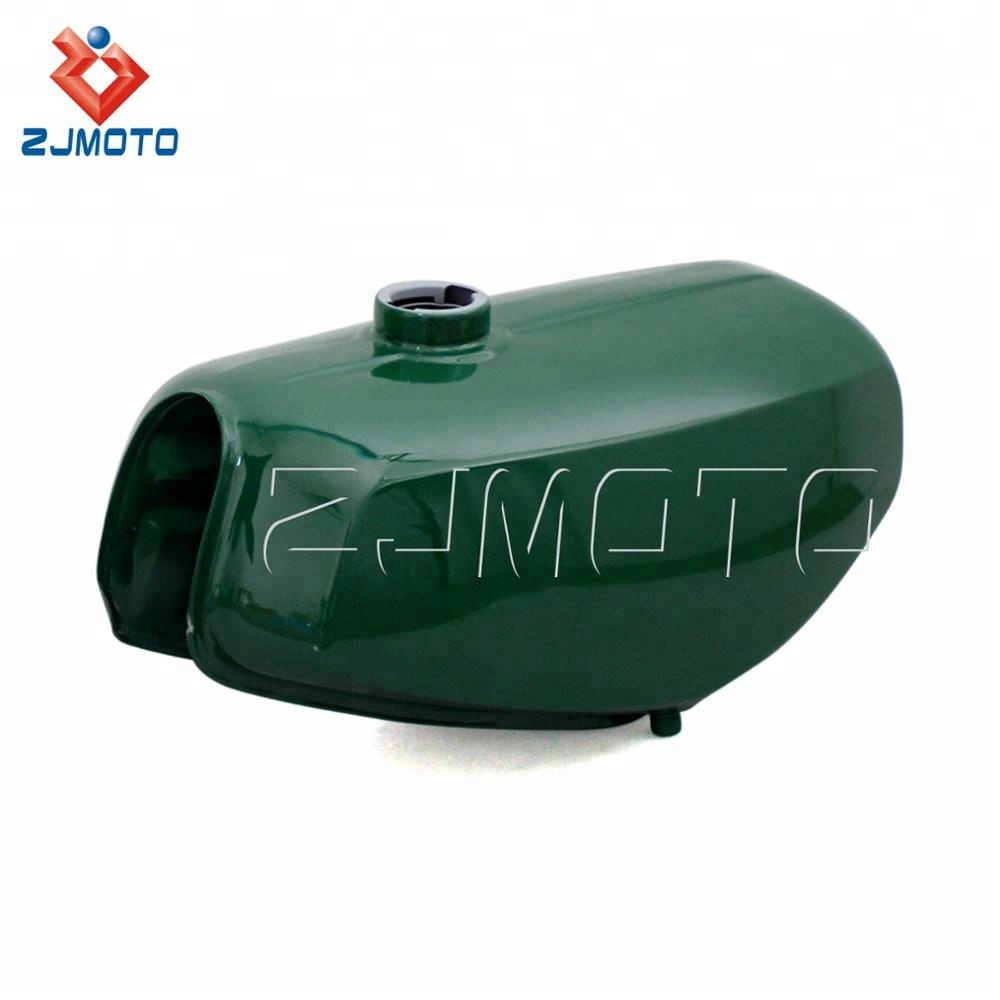 ZJMOTO Trade Assurance Green/Red Stainless Steel <strong>Motorcycle</strong> Feul Tank <strong>Germany</strong> Gas Tank for Simson * S 50, 51, 70