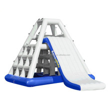 Sunway Inflatable Floating Island Giant Inflatable Water Slide For Adult