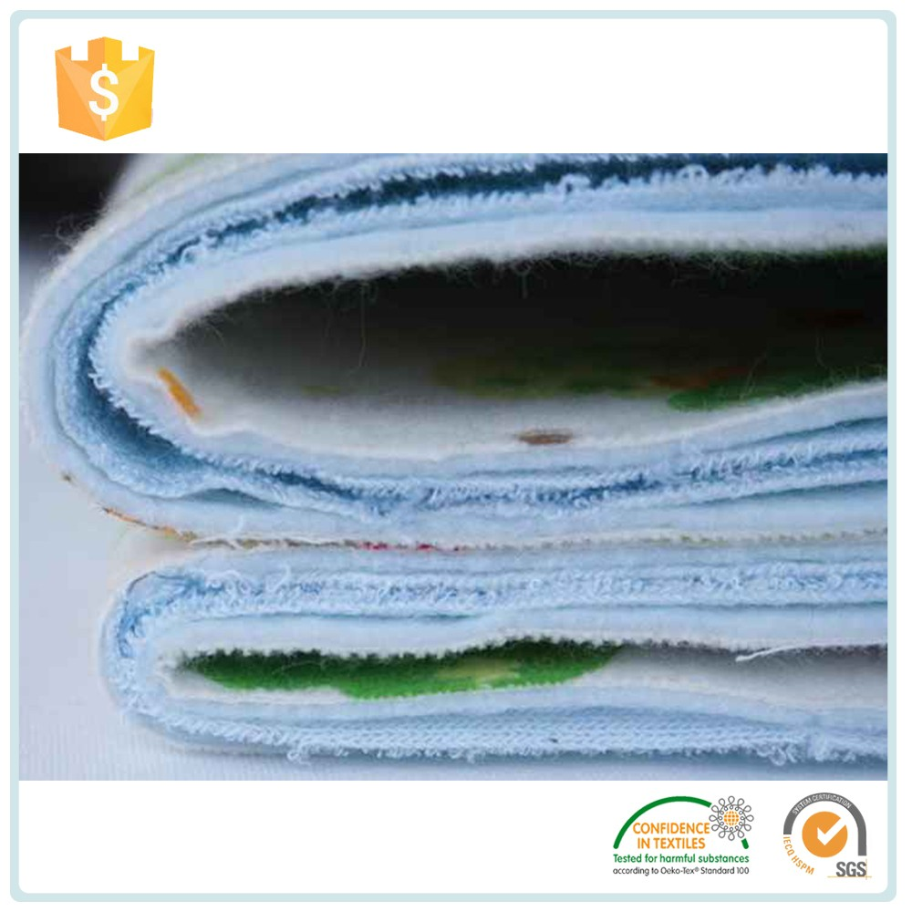 Hot Sell 2016 New Products Quilted Mattress Fabric / Waterproof 100% Lanimated Cloth Fabric