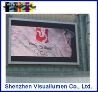 10000 dots density popular P10 full color p10 outdoor full color led display