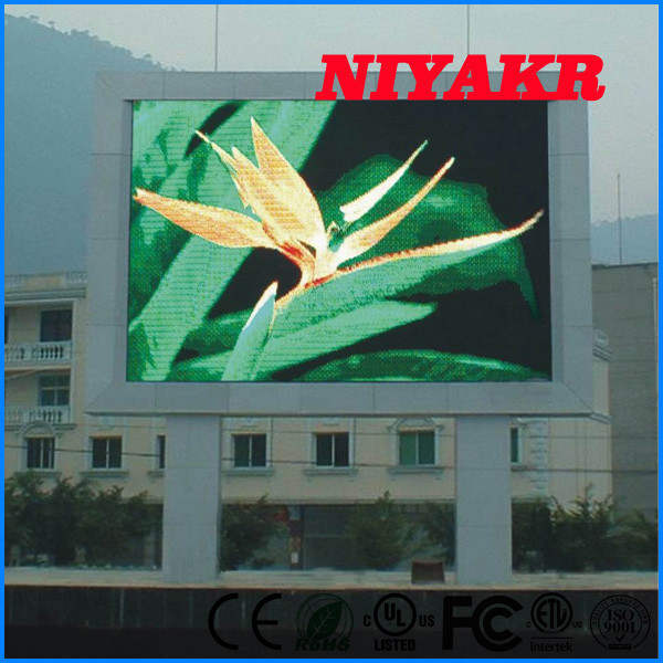 2017Niyakr factory price p16 full color led display outdoor .hd video screen advertising in alibaba