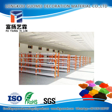 Sunlight Resistant Smooth Ral 1006 Maize Yellow Supply Racks Powder Coating Paint