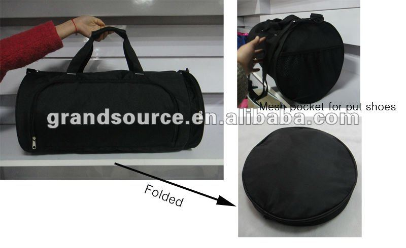 fold up polyester travel bag for promotion