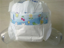 OEM cheap white PE back sheet baby diaper